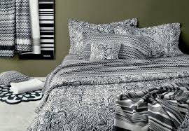 black and white patterned duvet covers model home decoration