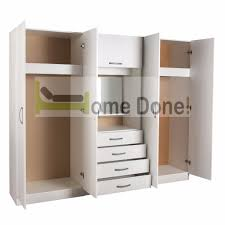 Dressing Wardrobe by 7 Day Money Back Guarantee 4 Door Assembled Wardrobe Dressing