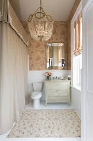 small traditional bathrooms traditional bathroom with wallpaper and wainscoting a beautiful