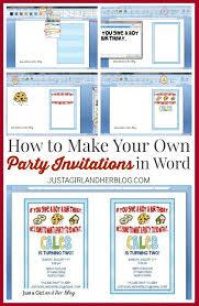 design your own birthday invitations oxsvitation