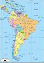 map of mexico south america the 25 best america political map ideas on