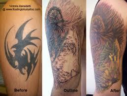 cover up tattoos floating lotus tattoo studio portland oregon