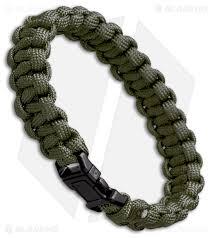 paracord bracelet braid images S e 7 strand survival paracord bracelet od green blade hq jpg