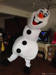 Olaf Costume 2014 New Olaf Snowman Frozen Mascot Costume Character Xdgv67 Girls