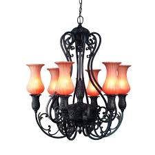 Candle Hanging Chandelier World Imports Candle Style Chandeliers Hanging Lights The