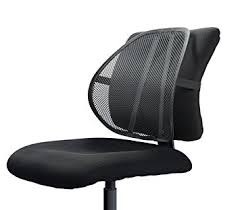 Desk Chair For Lower Back Pain Amazon Com Easy Posture Lumbar Back Support Mesh Health