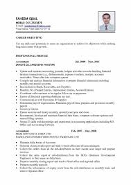 Career Objective In Cv For Accountant Resume Sample Accountant Sample Resume123