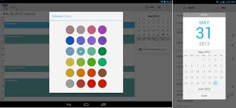 android color picker calendar for android updated with custom colors new date