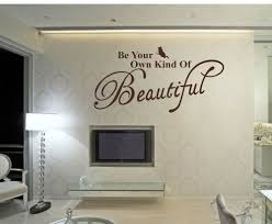 be your own kind of beautiful wall sticker the high street be your own kind of beautiful wall sticker
