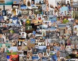 montage of diverse places and things stock photo getty images