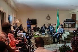 askvposinbajo media chat with vice president yemi osinbajo