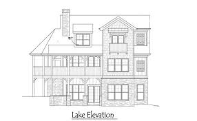 5 Bedroom Cottage House Plans 2 Story 5 Bedroom Rustic Lake Cottage House Plan