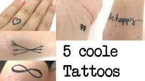 5 coole temporäre tattoos zum selber machen ideen für coole