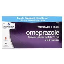 member s omeprazole acid reducer 42 ct sam s club
