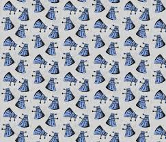 dr who wrapping paper doctor who dalek pattern fabric by elletopp on spoonflower custom