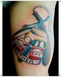 35 stylish sailor jerry shoulder tattoos
