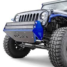 jeep prerunner bumper n fab rsp stubby front pre runner bumper with mount led bar