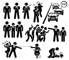 paparazzi clipart bodyguard protecting vip from paparazzi and killer stick