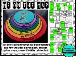 me a map on the map flip book map skills maps and globes map activities