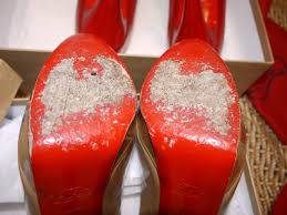 what katie healy did christian louboutin status of the sole