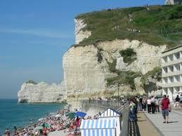 the alabaster coast in etretat france picture of etretat seine