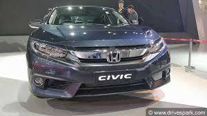 auto expo 2018 honda civic showcased expected price launch