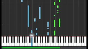 poi porti violetta y voy por ti piano tutorial synthesia