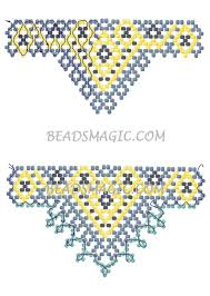 free pattern for beaded necklace sultan beads magic 2 u need
