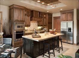 dark wood small kitchen normabudden com