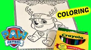 chrismas coloring pages paw patrol coloring pages christmas coloring pages paw patrol