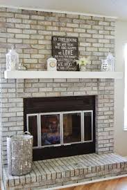 fireplace pleasing brick to stone fireplace for house ideas