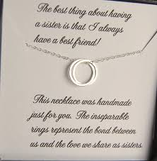 asking of honor poem necklace of honor note card included
