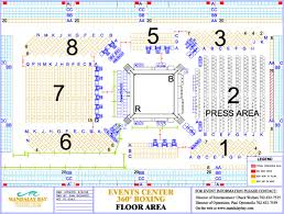 United Center Floor Plan Settlement Between The United States And Mandalay Corporation
