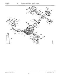 stihl 192 t parts diagrams