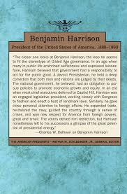Presidents Of The United States Benjamin Harrison The American Presidents Series The 23rd