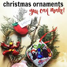 ornaments you can make as
