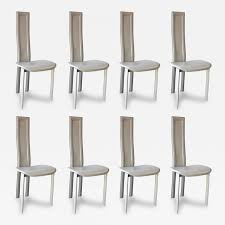 cattelan italia set of eight cattelan italia carre vi dining chairs