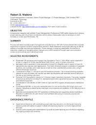single page resume template project manager cv example cv template