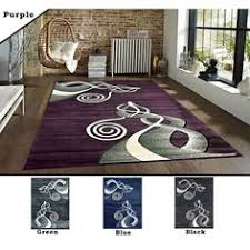 Designer Modern Rugs Noble House Nh 5858 Grey Purple Rugs 120 X 170cm Modern Rugs