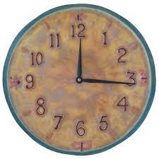 Art Wall Clock by Little Wings Design Ceramic Art Wall Clock Original Design