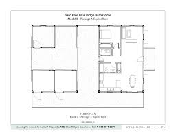 horse barn layouts floor plans blue ridge barn model b