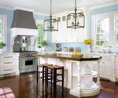 Light Blue Kitchen Backsplash by Cottage Kitchen Design Ideas Blue Kitchen Designs Beadboard