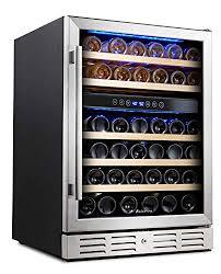Amazoncom Kalamera 24 Wine refrigerator 46 Bottle Dual Zone