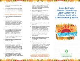 Private Child Support Agreement Adoption U2013 Ontario Association Of Children U0027s Aid Societies