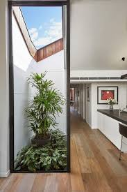 semi detached house in australia is business in front party in