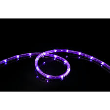 meilo 16 ft purple all occasion indoor outdoor led rope light 360