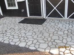 Concrete Paver Patio Ideas by Path Maker Mold Crazy Paving Maker Creates A Beautiful Path