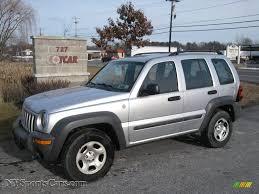 jeep 2004 2004 jeep liberty sport 4x4 in bright silver metallic 297769