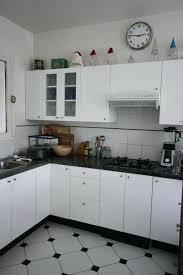 faience cuisine et blanc deco carrelage cuisine decoration pour cuisine noir et blanc