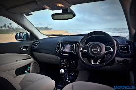 jeep blue interior jeep compass india review price specs mileage image gallery